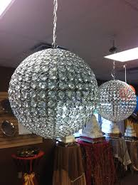 small home chandeliers design wonderful round crystal ball chandelier with