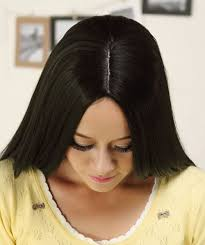 good long hair 100 cm synthetic hair natural wigs girls fashion style straight