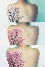 cherry blossom tree tattoos blossom trees