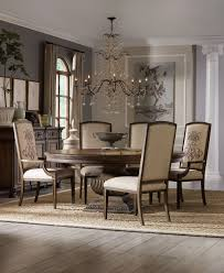 Chandelier Over Table Artistic Chandelier Over 72 Inch Round Pedestal Dining Table And