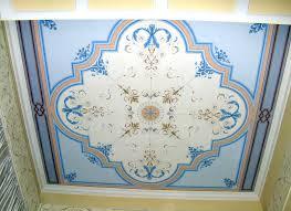 soffitti dipinti atelier mal d estro 盪 la decorazione part 1