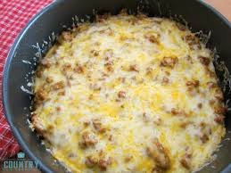 layered taco bake the country cook