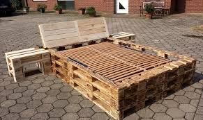 Headboards And Nightstands Pallet Bed With Headboard And Nightstands Pallet Furniture