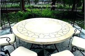 72 round outdoor dining table awesome round patio dining table round garden tables large round