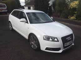 2008 audi a3 white 2 0 tdi s line manual 132k miles 5 door fsh