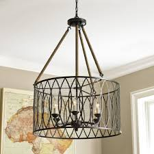 denley 6 light pendant chandelier this light looks amazing in a 2