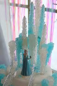 frozen birthday cake using rock candy genius idea for casey u0027s