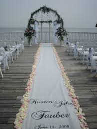 burlap wedding aisle runner 69 outdoor wedding aisle decor ideas happywedd