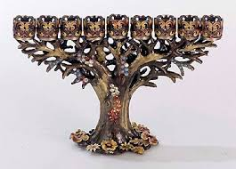 tree of menorah 23 best menorahs images on hanukkah menorah beautiful
