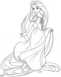 luxury disney princess coloring pages rapunzel 58