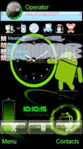 clock themes for android mobile download android clock s60v5 theme nokia theme mobile toones