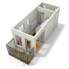 brightbunk tiny house design with bunk beds
