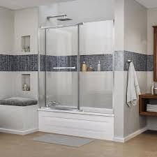 58 Bathtub Shop Dreamline Vitreo X 58 75 In W X 58 In H Frameless Bathtub