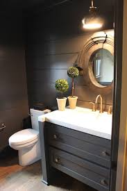 Dark Gray Bathroom Vanity by Best 25 Dark Gray Bathroom Ideas On Pinterest Gray And White