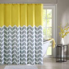 Chevron Design Curtains Special Designer Shower Curtain Best Home Decor Inspirations