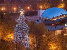 chicago tree lighting ceremony when to see it and where
