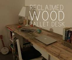 Building Wooden Computer Desk by Diy Pallet Computer Desk Picture Charming Retro Home Office
