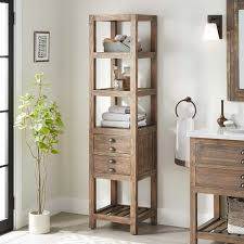 how to clean wood cabinets in bathroom 18 benoist bathroom linen storage cabinet gray wash pine