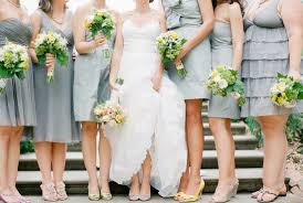 same color different style bridesmaid dresses 001 weddings by lilly