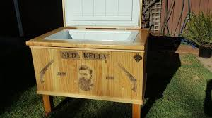 Patio Cooler Table Ned Themed Patio Cooler Hometalk