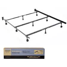 Compact Queen Bed Solutions Twin Cal King Compact Universal Folding Bed Frame By