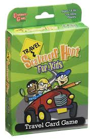 amazon com travel scavenger hunt card game toys u0026 games