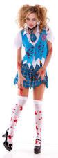 Halloween Costumes Dead Cheerleader Spectre Zombie Costume Zombie Costumes