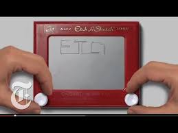 watch this etch a sketch tell the story of its inventor