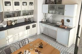 50er jahre k che kann die moderne küche im retro stil gestaltet sein