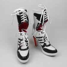 womens harley boots sale aliexpress com buy harley quinn costume squad