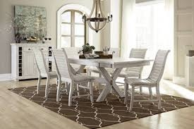 White Dining Room Set Distressed Dining Room 2016 Best 25 Rustic Dining Set Ideas That