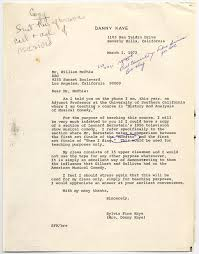 Dorothy Parker Resume The Danny Kaye And Sylvia Fine Collection Letter Library Of