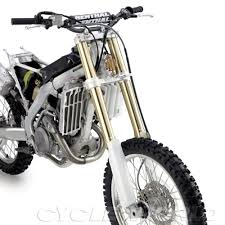 fox motocross forks inside the new kyb pneumatic spring fork suspension technology