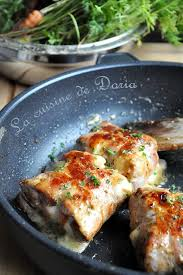 cuisine de doria noix de veau au livarot la cuisine de doria