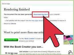 how to download a wikipedia page as a pdf 6 steps with pictures