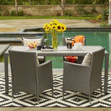 Patio Dining Chairs With Cushions Bronx Ellie Patio Dining Chair With Cushion Reviews Wayfair