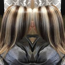 blonde hair with chunky highlights 514 best chunky streaks lowlights 6 images on pinterest hair