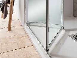 edge bifold shower door in bifold door luxury bathrooms uk