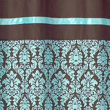 Turquoise And Brown Curtains Brown Shower Curtains Turquoise And Brown Living Room Turquoise