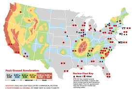us geological earthquake map us nuclear reactors vs fault line map this map shows where
