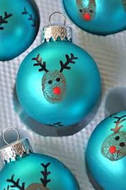 reindeer thumbprint ornaments pictures photos and images for