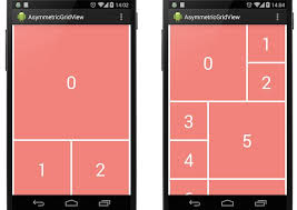gridview android android listview that mimics a gridview with asymmetric items