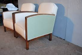 Art Deco Armchairs For Sale Pair Of Art Deco Fireside Chairs Cloud 9 Art Deco Furniture Sales