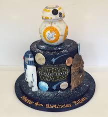 starwars cakes wars birthday cake children s birthday cakes