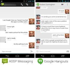 hangouts app android am i the only one who thinks the hangouts app is incredibly
