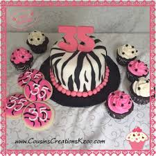 zebra striped birthday collection cousin u0027s creations birthday