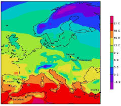 what is a climate map heading south europe s climate in 2071 thenextwave