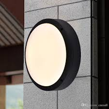 2018 modern flat led light outside porch lights waterproof