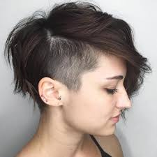 long choppy haircuts with side shaved 20 inspiring pixie undercut hairstyles
