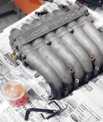mitsubishi fto engine портинг впускного коллектора u2014 бортжурнал mitsubishi fto 2 0